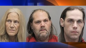 Lafourche Parish deputies arrested Sandy Chauvin and her two sons. (Credit: WGNO via CNN Wire)