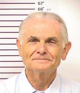 Former Charles Manson follower Bruce Davis is seen in an Oct. 12, 2012, booking photo released by the California Department of Corrections.
