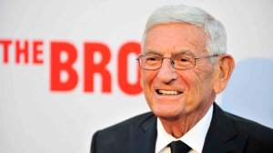Eli Broad attends The Broad Museum Black Tie Inaugural Dinner at The Broad on September 17, 2015 in Los Angeles. (Credit: Jerod Harris/Getty Images)