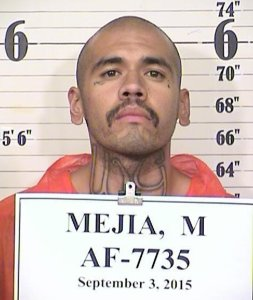 Michael Mejia is shown in a inmate photo from the California Department of Corrections and Rehabilitation.