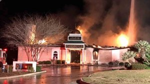 The Victoria Islamic Center was destroyed in a fire on Jan. 28, 2017.