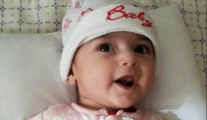 Fatemeh, an Iranian infant with a heart defect was scheduled to meet with doctors in Portland on February 5, but was barred from traveling from Tehran to Portland, Fatemeh's uncle, Samad Teghizadeh, told CNN Thursday, Feb 2, 2017. (Credit: Samad Teghizadeh)