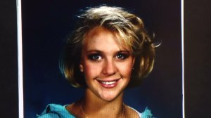 Sunny Sudweeks is shown in a photo displayed at a Feb. 23, 2017, Costa Mesa police news conference. She was killed in 1997.