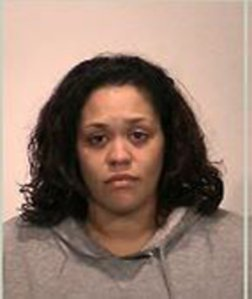 Tenessa Price is seen in a booking photo released by the Oakdale Police Department.