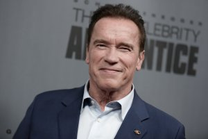 Arnold Schwarzenegger attends 'The New Celebrity Apprentice' Q & A and Red Carpet Event At Universal Studio, Universal City on December 9, 2016. (Credit: RICHARD SHOTWELL/AFP/Getty Images)