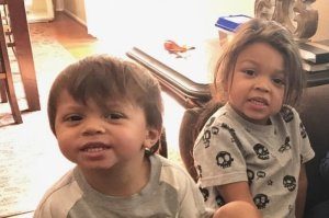 A GoFundMe account set up for the family identified the children in this photo as Jeremiah and Noah Abbott.