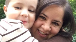 "Ana Estevez included this photo of herself and her son on a public Facebook post on May 17, 2017, when she first spoke out about the disappearance of Aramazd ""Piqui"" Andressian Jr."