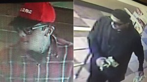 Police released photos of a man wanted in connection with a series of robberies in Garden Grove.