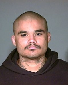 Junior Tejeda is seen in a photo released by the San Bernardino County District Attorney's Office.