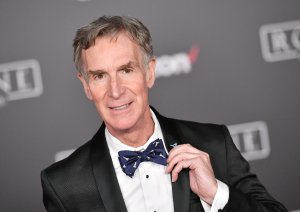 """Educator Bill Nye attends the premiere of Walt Disney Pictures and Lucasfilm's """"Rogue One: A Star Wars Story"""" at the Pantages Theatre on December 10, 2016 in Hollywood. (Photo by Mike Windle/Getty Images)"""