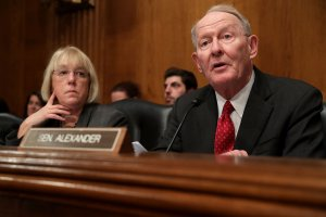 Senate Health, Education, Labor and Pensions Committee Chairman Lamar Alexander (R). (Credit: Chip Somodevilla/Getty Images)