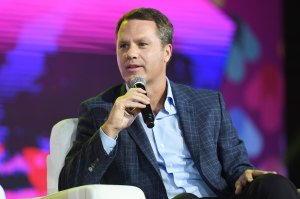 President and CEO of Wal-Mart Stores Doug McMillon speaks onstage at the 2017 ESSENCE Festival presented by Coca-Cola on June 30, 2017, in New Orleans, Louisiana. (Credit: Paras Griffin / Getty Images)