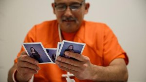Romulo Avelica-Gonzalez is shown in an undated photo at the ICE detention facility in Adelanto, Calif. (Credit: Marcus Yam / Los Angeles Times)