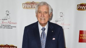 TV host Monty Hall arrives at the 3rd annual Jerry Herman Awards at the Pantages Theatre on June 1, 2014 in Hollywood, Calif. (Credit: Chelsea Lauren/Getty Images for the Pantages Theatre)