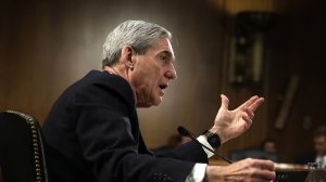 FBI Director Robert Mueller testifies during a hearing before the Senate Judiciary Committee June 19, 2013, on Capitol Hill in Washington, D.C. (Credit: Alex Wong/Getty Images)