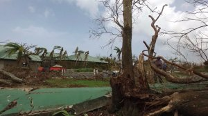 The island of Vieques has been destroyed by Hurricane Maria and almost entirely cut off. (Credit: CNN)