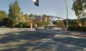 The Alameda Avenue entrance to Walt Disney Studios in Burbank is shown in a Google Maps image.