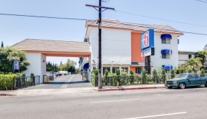 A Motel 6 in Van Nuys is seen in a Google Maps Street View image from April 2017.
