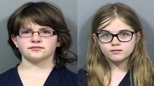 Anissa Weier (left) and Morgan Geyser were both 12 at the time they stabbed a friend 19 times in Wisconsin. (Credit: Waukesha, Wisconsin Police via CNN)