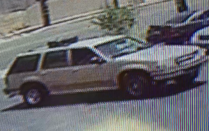 The vehicle used in at least one armed robbery in Santa Ana is seen in a photo released by Santa Ana police on Sept. 27, 2017.