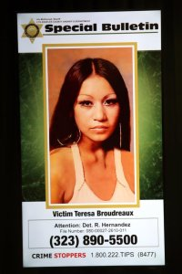 Teresa Broudreaux is shown on an L.A. County Sheriff's Department flier released Sept. 29, 2017.