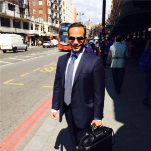 George Papadopoulos is shown in an undated photo from his LinkedIn profile.