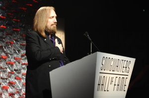 Tom Petty speaks onstage during the Songwriters Hall Of Fame 47th Annual Induction And Awards on June 9, 2016, in New York City. (Credit: Larry Busacca / Getty Images)