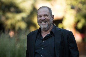 Harvey Weinstein, co-chairman and co-founder of Weinstein Co., attends a conference in Sun Valley, Idaho. (Credit: Drew Angerer/Getty Images)