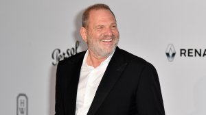 Producer Harvey Weinstein poses as he arrives for the amfAR's 24th Cinema Against AIDS Gala on May 25, 2017 in Cap d'Antibes, France. (Credit: Alberto Pizzoli /AFP/Getty Images)
