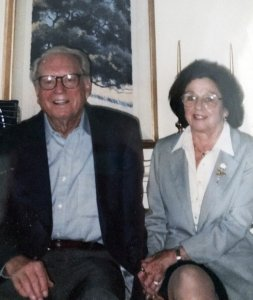 This undated photo of Charles and Sara Rippey was provided by their son Michael Rippey. The couple's bodies were found Monday, October 9, 2017. (Credit: Michael Rippey/Associated Press)