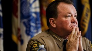 The question remains whether Los Angeles County Sheriff Jim McDonnell can give prosecutors the names of deputies with histories of dishonesty and similar misconduct. (Marcus Yam / Los Angeles Times)