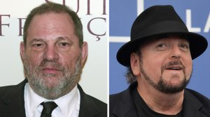 Hollywood heavyweights Harvey Weinstein (left) and James Toback have both been accused of sexual assault. (Credit: DSK/AFP/Getty Images)