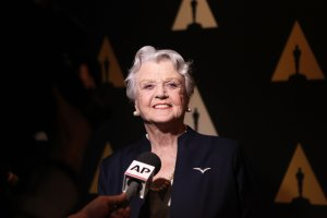 "Actress Angela Lansbury attends the 25th-anniversary screening of ""Beauty and the Beast"" on May 9, 2016, in Beverly Hills. (Credit: Matt Winkelmeyer / Getty Images)"