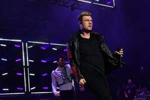 Nick Carter of Backstreet Boys performs onstage at Jones Beach Theater in Wantagh, New York on June 3, 2017. (Credit: Dia Dipasupil/Getty Images for iHeart Media)