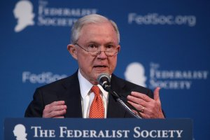 U.S. Attorney General Jeff Sessions speaks during an event Nov. 17, 2017, in Washington, DC. (Credit: Alex Wong / Getty Images)