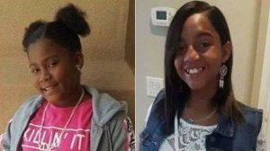 The L.A. County Sheriff's Department released these photos of Relinne Harris, left, and Derinne Harris, right.