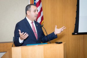 Sen. Tony Mendoza is shown in a photo posted on his website in 2016.