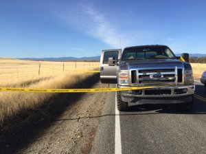 In a briefing on scene Tuesday, Nov. 14, 2017, a Tehama County Sheriff spokesman said at least five people are dead across seven crime scenes including Tehama Elementary School. (Credit: Sara Stinson / KHSL via CNN)