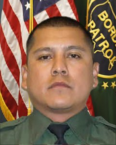 Rogelio Martinez is seen in his official U.S. Customs and Border Patrol portrait.