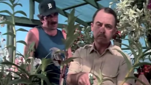 """John Hillerman, right, and Tom Selleck are seen in the opening credits of """"Magnum, P.I."""""""