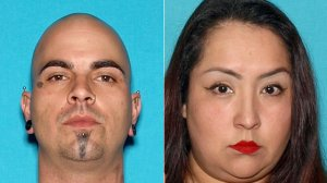 Christopher Livingston and Cynthia Guevara are shown in photos released by the Cypress Police Department on Dec. 22, 2017.