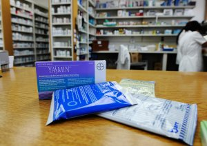 Prescription contraceptives for women sit on the counter of a drug store on Aug. 1, 2011 in Los Angeles. (Credit: Kevork Djansezian/Getty Images)