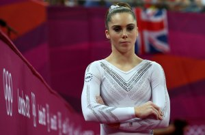 McKayla Maroney looks on during the London 2012 Olympic Games on August 5, 2012 in London, England. (Credit: Ronald Martinez/Getty Images)