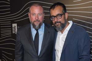 Vice Media CEO Shane Smith and Co-Founder Suroosh Alvi attend the 20th Annual Webby Awards at Cipriani Wall Street on May 16, 2016 in New York City.  (Credit: Mark Sagliocco/Getty Images)
