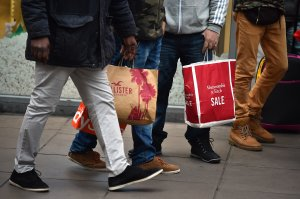 Holiday shopping retail sales smashed records in 2017. (Credit: HGL/Getty Images)