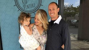 Cory Iverson and his family are seen in a photo posted to Ashley Iverson's Facebook page.