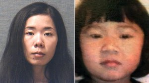 Mingming Chen, left, is seen in a photo released by the Stark County Sheriff's Office and Ashley Zhao is seen in a photo released by the Jackson Township Police Department.