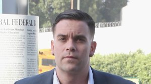 Actor Mark Salling arrives for a court appearance at the United States Courthouse for the Central District of California on June 3, 2016, in Los Angeles. (Credit: Frederick M. Brown/Getty Images)