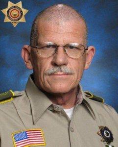 San Bernardino County Sheriff's Department Deputy Larry Falce is seen in a photo released by the law enforcement agency on Jan. 2, 2018.