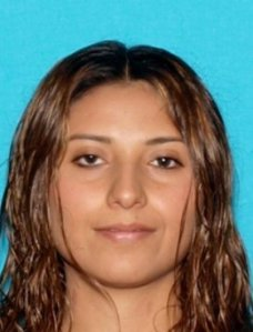 Faviola Benitez Calderon is seen in a driver's license photo released by the Santa Barbara County Sheriff's Department.